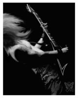 Children Of Bodom- Alexi Laiho by shadowwolfdemon