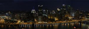 Pittsburgh Skyline 080809 by MaillerPhong