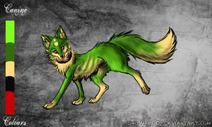 Canine Adoptable -Closed- by SilenceMoonskin
