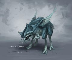 Monster No. 019 by Onehundred-Monsters