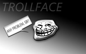Trollface Wallpaper by MiLk91
