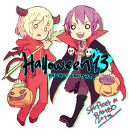 DBHK Halloween Contest by demitasse-lover