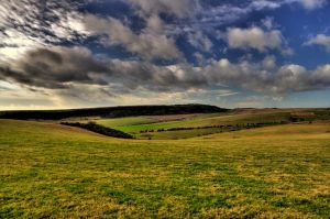 HDR South Downs by lorni3