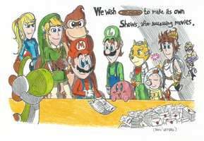 We wish Nintendo to make its Own Shows... by FelixToonimeFanX360