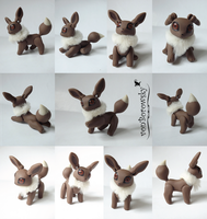 Poseable Eevee