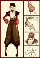 ROTG Fashion: North and other christmassy things by Vilva