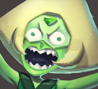One face a day #6/365.  Mad Peridot (SU) by Dylean