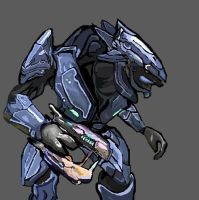 sangheili-from-halo.:request:. by cheyennethestarwolf
