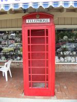Phone Booth Stock by chamberstock