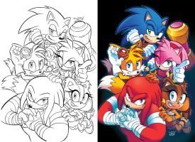 Sonic Boom 03 Cover by herms85