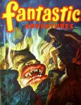 Fantastic Adventures Magazine by peterpulp