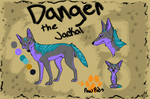 Comm- Danger the Jackal by BlackTailwolf