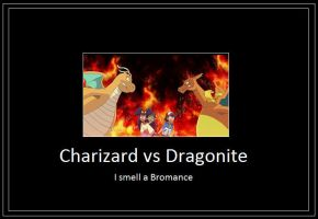 Charizard vs Dragonite Meme by 42Dannybob