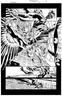 Savage Hawkman Issue 9 Page 6 by aethibert