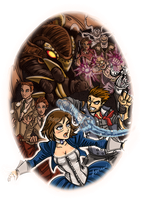BioShock Infinite by ADL-art