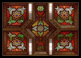The Colours Of Morocco -  Stained Glass by skarzynscy
