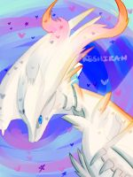 Pokemon Challenge! Day16 Reshiram! by herakushi