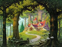 Rivendell by BrothersHildebrandt