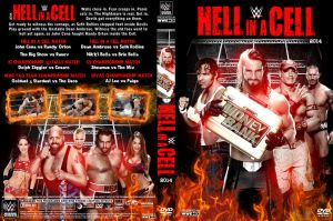WWE Hell in a Cell 2014 DVD Cover V1 by Chirantha