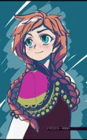Frozen - Anna by Kouken