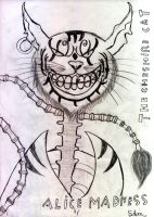 cheshire cat-alice madness by akiolios
