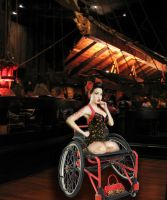 Cherry at the Tonga Room by HelenaBox