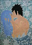 Gruvia: when ice and water collide by Rommione