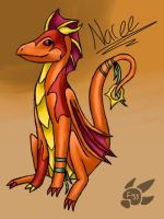 Naree coloured by fizzing-dragon