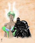 Cheat Ra and Sherotica collab by BA, CR and DD by ChristopherRobinArtz