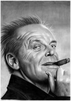 Jack Nicholson by donchild