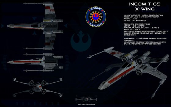 X-Wing ortho by unusualsuspex