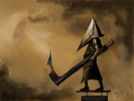 Silent Hill: Pyramid Head by c0le393
