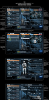 Battlefield 3 #SPAWN MENU SCREEN by wirrew
