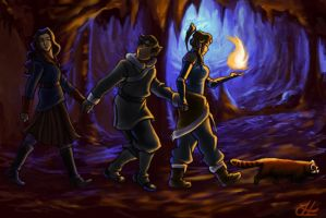 LOK: The Cave by hypercrabby