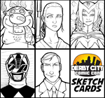 Derby City Sketch Cards by TravisTheGeek