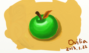 Apple by Ovilia1024