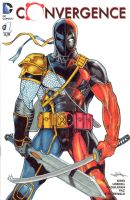 Deathstroke/ Dead Pool SOLD by Dingodile24