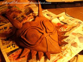 Majora's Mask - clay (3-10-2012) by SarahRasmical