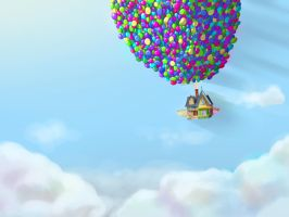 UP! House in the sky by Sucki-Artist