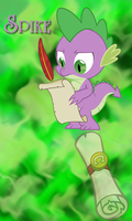 Spike Win7 Phone BG by TecknoJock