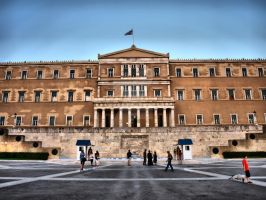 The Hellenic Parliament by Asimakis