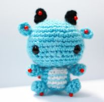 mini dragon in progress 01 by tinyowlknits
