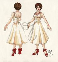New And Improved Wedding Dress by PlaidTidings