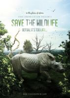 Save The Wildlife - Flyer by VectorMediaGR
