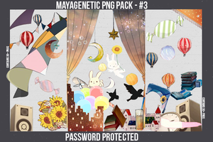 PNG Pack - 3 by MayaGenetic by MayaGenetic