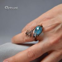 Adjustable wire ring by artual