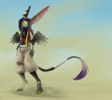 ow there is sand in my eye by Chebits