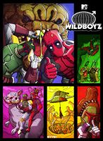 deadpool and boba fett : wildboyz by m7781