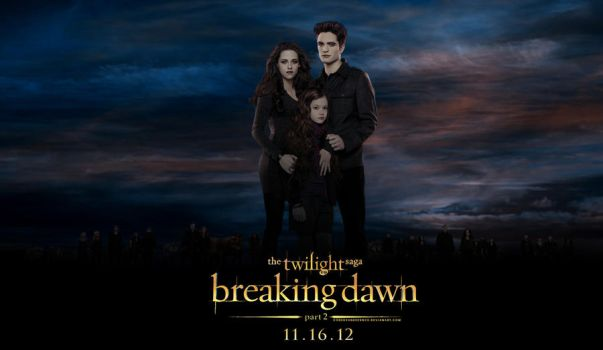 Breaking Dawn part 2 - Poster by codeevanescence