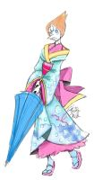 Kimono Pearl by gameboyred